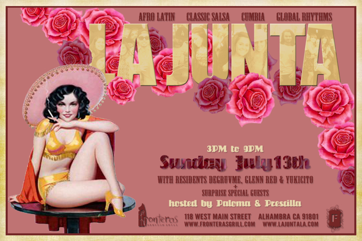 LA JUNTA JUL13 flyer 720x508