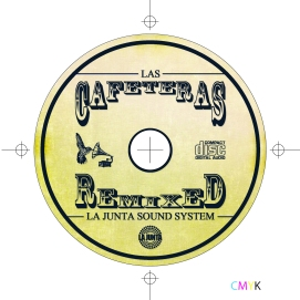 CAFETERAS REMIX CD LABEL flat