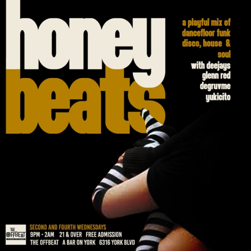 HONEY BEATS MAY15 flyer 1
