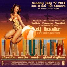 LA JUNTA JULY27 720x720