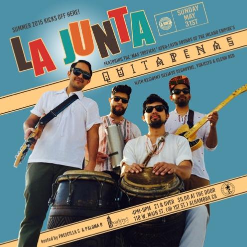 LA JUNTA + QUITAPENAS 053115 720x720