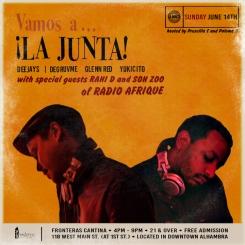 LA JUNTA + RADIO AFRIQUE 061415 b2b