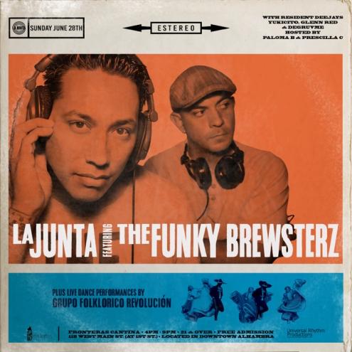 LA JUNTA x FUNKY BREWSTERZ event cover 851x315 2