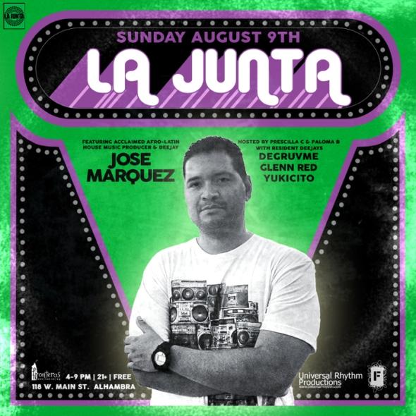LA JUNTA X JOSE MARQUEZ 080915 Flyer