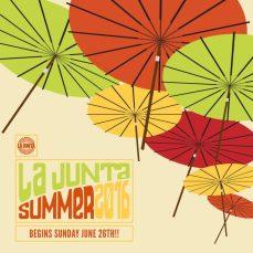 LA JUNTA SUMMER 2016 SQ