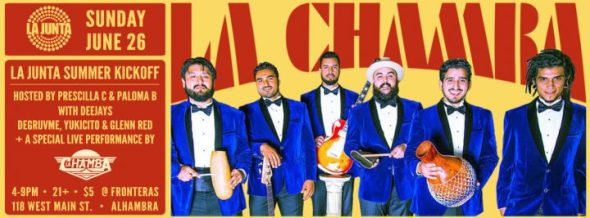 LA JUNTA x LA CHAMBA event 851px 1