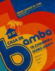 CASA DE BAMBA 081817 flier