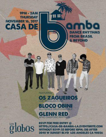 CASA DE BAMBA 111617 Flier BLU