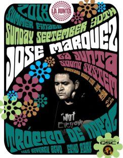LA JUNTA x JOSE MARQUEZ 093018
