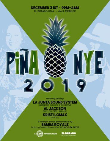 PIÑA x NYE 2019 875px